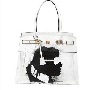 "De-Vesi Tropicale size 40 Handpainted ""Karl"" bag"